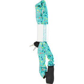 URBAN PROOF Chain Lock 90cm, confetti dots mint